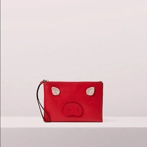 Kate Spade Small Willa Pig Clutch NWT
